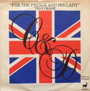 "Tony Crane ‎- For The Prince And His Lady (7"") (VG/G++)"